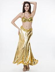 Accesorios ( Oro , Poliéster/Lentejuela , Danza del Vientre/Desempeño/Ropa de Noche ) - Danza del Vientre/Desempeño/Ropa de Noche - para