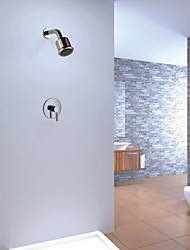 Single Handle Brass Concealed Bathroom Shower Faucet Wall Mount