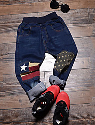 Boy's Denim Jeans,All Seasons Print
