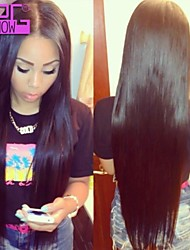 Best Selling Human Hair Lace Front Wigs Brazilian Virgin Human Hair Straight Wigs With Beached Knots .