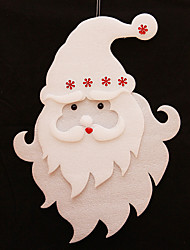 "5PCS/Set 43CM/17"" New Arrival Christmas Decoration Foam Santa Claus Xmas Tree Decoration"