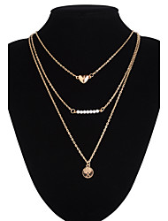 Jewelry Pendant Necklaces / Statement Necklaces / Layered Necklaces Wedding / Party / Daily / Casual Alloy 1pc Women Wedding Gifts