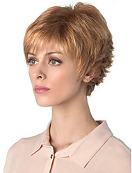 New Arrival Individuation Blonde Style Syntheic  Wigs  Extensions Women Lady's Lovely