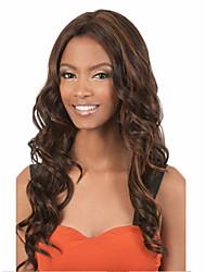 completa de alta calidad peluca más vendido de color nueva mezcla de la manera larga de wonen rizado