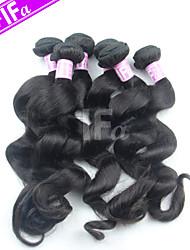 Peruvian 5Pcs/Lot Wholesale Price Hair Weaving Loose Wave Peruvian Human Hair Color 1B