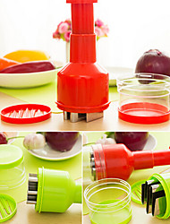 Multifunction Kitchen Vegetable Chopper Qiecai Random Color