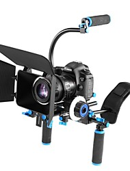 yelangu® DSLR rig sistema de cinema set kit filme, suporte para todas as câmeras DSLR e câmara de vídeo