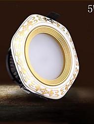 5W 9005 LED Encastrées 10 LED Intégrée lm Blanc Chaud / Blanc Froid Décorative AC 85-265 V 1 pièce