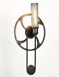 Grand Mercure Mount wall lamp Loft Steampunk Nordic American IKEA Warehouse Retro Industrial Gear Wall Lamp