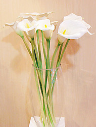 Zantedeschia M in Silk Cloth Artificial Flower for Home Decoration(5Piece)