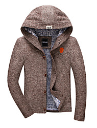 Winter cotton-padded clothes men students cotton-padded jacket jacket fleece jacket sports sweater coat