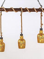3W Lustre ,  Traditionnel/Classique / Vintage / Rétro / Rustique Autres Fonctionnalité for LED Bois/BambouSalle de séjour / Chambre à