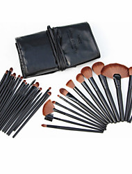 32PCS  New Professional  Black Makeup Brush Sets  Cosmetic Brushes