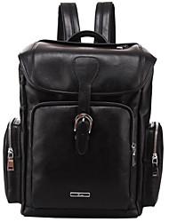 X.bnj  High-end Genuine Leather Men Backpack Lightweight Top Layer Cowhide Shoulder Messenger Laptop Travel Bag