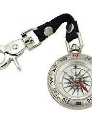 Metal Antique Pocket Watch Style Compass With Lanyard High-Grade High-Grade Zinc Alloy Retro Compass