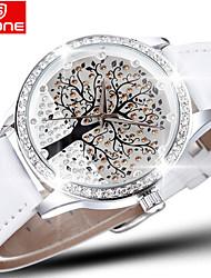 Mulheres Relógio de Moda Quartz Impermeável Banda marca- SKONE