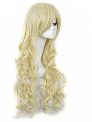 Bang de beaux cheveux perruques cosplay sythetic extensionas belle perruque