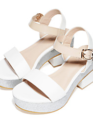 Meirie ist Damen Lackleder Sandalen
