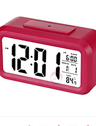 Bedside Luminous Electronic Clock Creative Big Screen Alarm Clock ABS