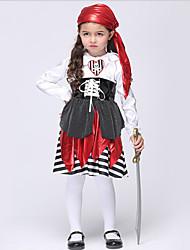 Costumes - Pirate - Enfant - Halloween / Noël / Carnaval / Le Jour des enfants - Robe / Casque / Ceinture