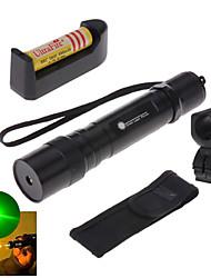 Laser Verde - Tipo Lanterna - de Liga Alumínio