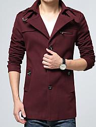 Men's  Pure Wool Coat