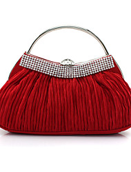 Women's Evening Bag Korean Style Silk Sweet Lady Style Clutch Bag Bride Bag Purse