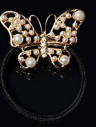 Women's Alloy Imitation Pearls Hair Rope Hair Accessories