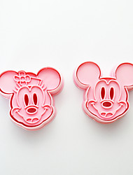 Cute Mickey/ Minnie Mouse Decorating Cookie Cutters and Stamps
