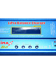 Free shipping IMAX B6 RC Lipo NiMh Battery Digital Balance Charger with T Plug or Tamiya Connector Calbe