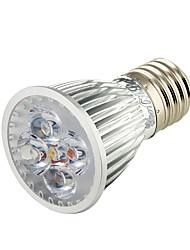 5W E26/E27 Faretti LED A50 5 LED ad alta intesità 450 lm Bianco caldo Decorativo AC 220-240 / AC 110-130 V 1 pezzo