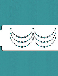 Pearl Cake Stencil for Cake Decorating, Cake Side Stencil, Cookie Stencil, Wall Stencil,ST-368