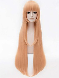 Beautiful And Cute  Cosplay  Sythetic Wigs Hair Extensions