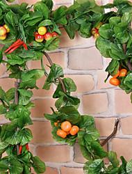 Seda Plantas / Fruta Flores Artificiales