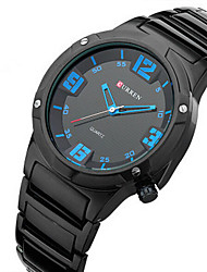 CURREN 8111 Watches Strip Mens Watches Fashion Waterproof Three-dimensional dial Sports Watches Wrist Watch Cool Watch Unique Watch