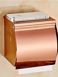 Suporte para Papel Higiênico / Gadget de Banheiro , Neoclássico Ouro Rosa Montagem de Parede
