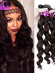 Natural Color Malaysian Virgin Hair Loose Wave Bundles 3Pcs/Lot Malaysian Human Hair For Black Women RPG Show Product
