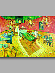 Hand-Painted Abstract Oil Painting Canvas Van Gogh repro Cafe Table Heavy Oil Home Deco one Panel