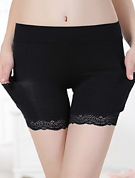 Women's Sexy Lace Bamboo Fiber Thicker Boy shorts & Briefs / Ultra Sexy Panties Anti Emptied Underwear