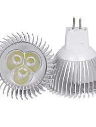 3W MR16 350LM Warm/Cool White Light LED Spot Lights(12V)