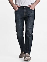 LEEPEN New Winter  Slim Dark Color Jeans.