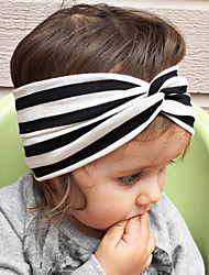 Kid's Cute Stripe Knot Elastic Headband