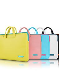 """12 saco de lazer """"13.3"""" 15.4 """"pacote de arquivos saco maleta único laptop ombro para macbook"""
