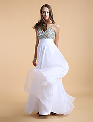 Women's Patchwork Blue / White Dresses , Sexy / Party V-Neck Sleeveless