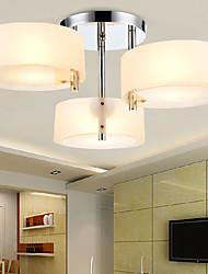 Ecolight ™ montaje empotrado moderna / contemporánea 3 luces luz de techo / habitación de los niños / entrada / pasillo / metal