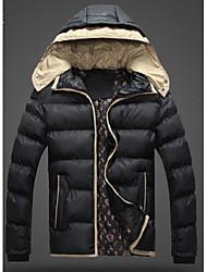Повседневный - MEN - Пальто и жакеты ( Смешанная хлопковая ткань Толстовка - Длинный рукав
