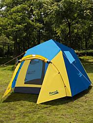 Makino 3-4 человека Световой тент Тройная Палатка Однокомнатная Автоматический тент Хорошая вентиляция С защитой от ветра