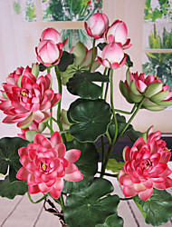 The Sitting Room Adornment Flower Art Polyester Lotus Artificial Flowers