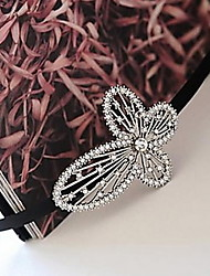 Alloy Bowknot Rhinestone Headband Hair Accessories