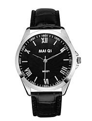 Masculino Relógio de Pulso Quartzo Couro Banda Branco Preto Vermelho Castanho Claro Castanho Escuro